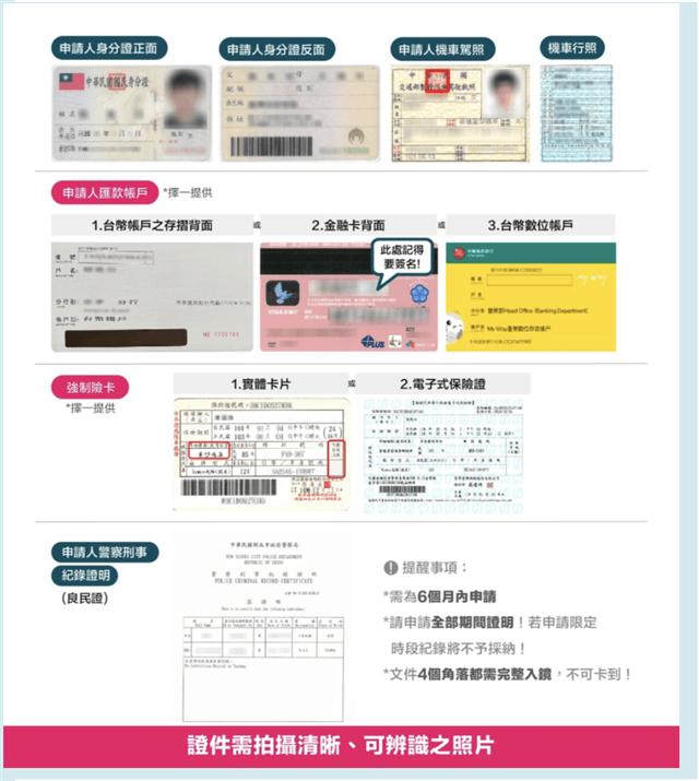 如何加入熊貓外送-上傳指定證件