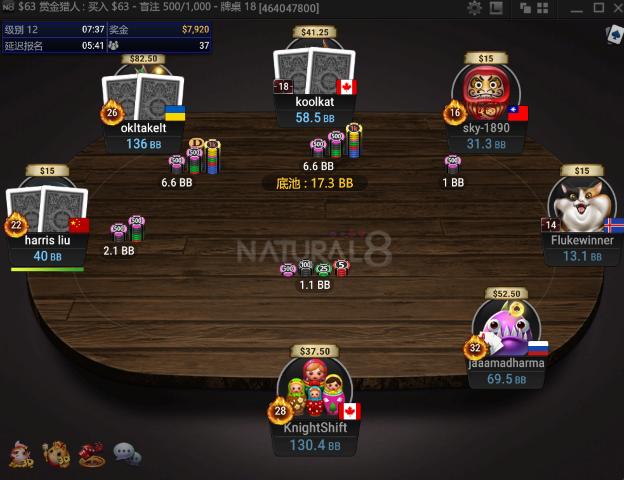 NATURAL8的遊戲畫面